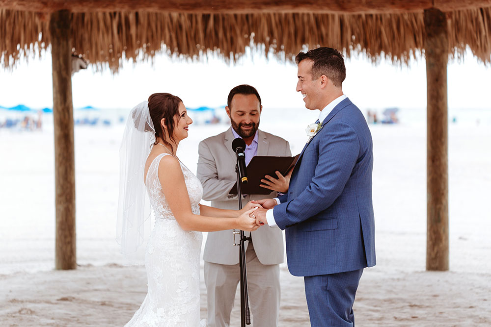 Naples Wedding Photographer, getting married on the beach