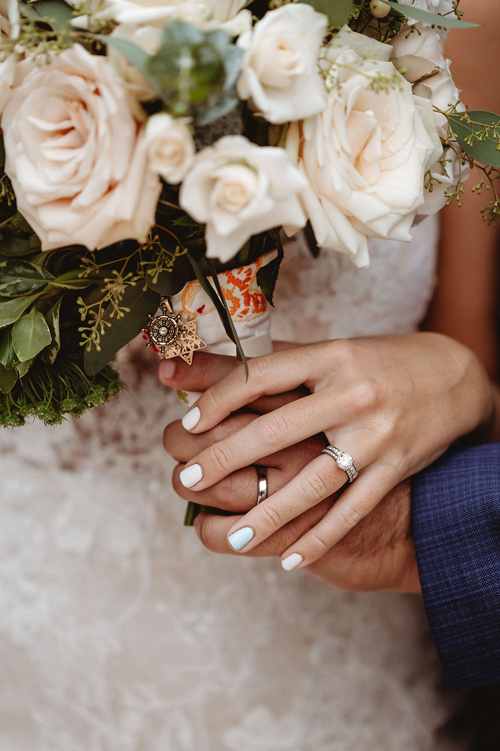 Naples Wedding Photographer, detail shot of bride and grooms hands
