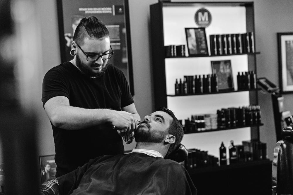 Naples Branding Photographer, barbershop