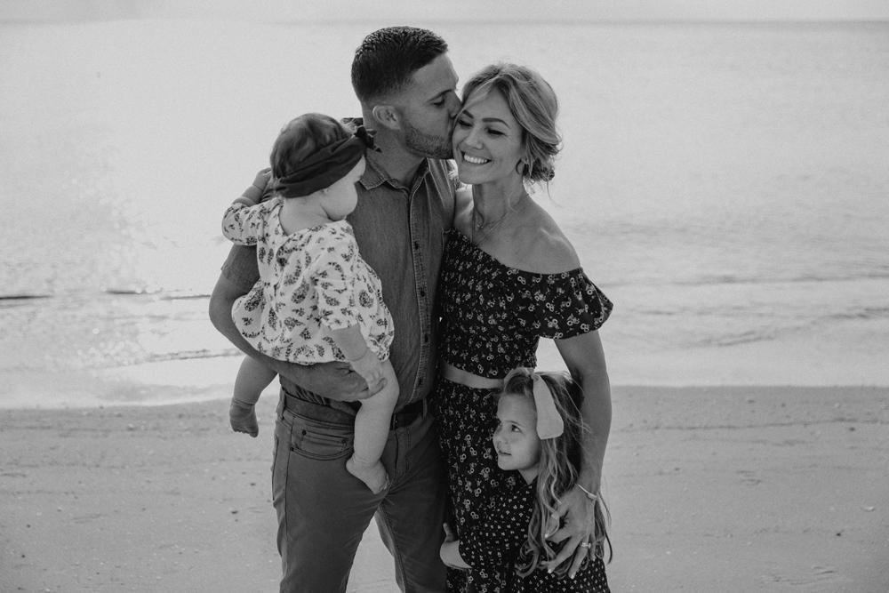 Naples Family Photographer, family at the beach