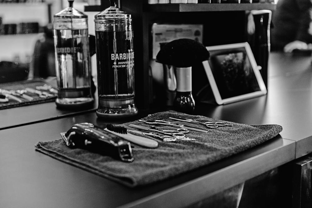 Naples Branding Photographer, barber tools