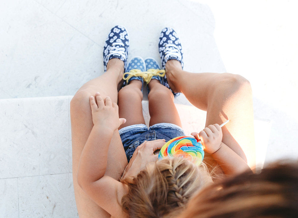 Naples Family Photographer, mother's and daughter's shoes